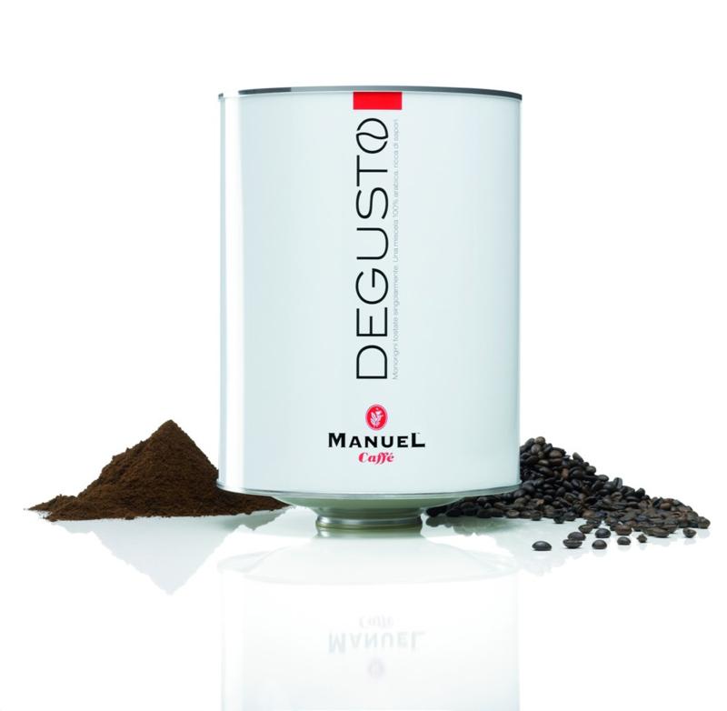 Manuel Caffe DEGUSTO blik 2000 gram bonen