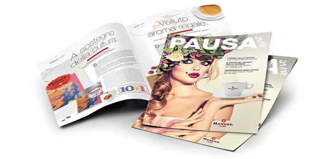 ManueL Caffe PAUSA magazine