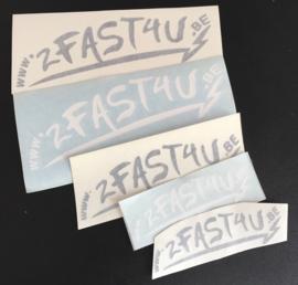 2fast4u sticker