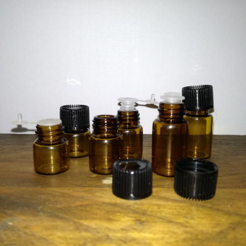 Flesjes met druppelaar 1, 2 of 3 ml
