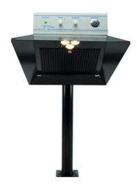 WSDA 5110 in combinatie met kabelgoten en trafo (niet los leverbaar)