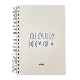 Notitieboek Totally Doable