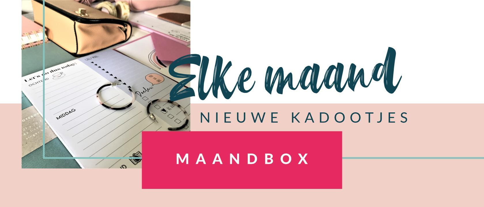 KP2019 MAANDBOX - ELKE MAAND
