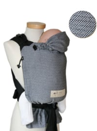 Storchenwiege BabyCarrier Zwart-wit