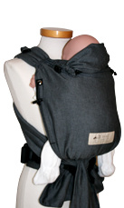Storchenwiege BabyCarrier Graphit