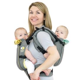 TwinGo tweelingdraagzak (of baby en peuter)