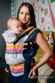 LennyLamb ergonomische drager Vanilla Lace (grade B), baby maat