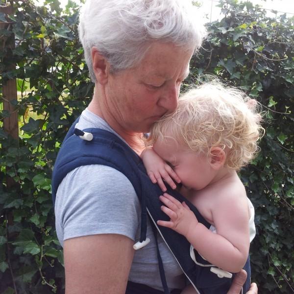 Oma met Berend in de Bondolino