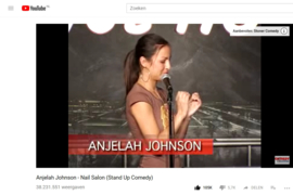 Blog;  Anjelah Johnson ***  Nail Salon *** Dit moet je gezien hebben !!