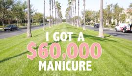 Blog;  $ 60.000 manicure behandeling !