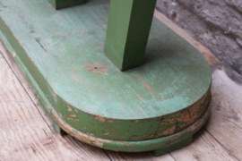 Vintage etagère etalagestandaard oude sleetse verf