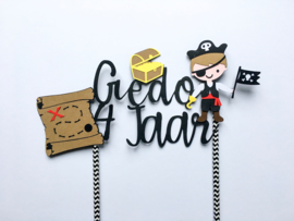 TAARTTOPPER | Piraten