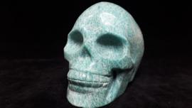 Amazoniet human skull