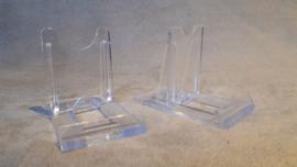 Schuif standaard acryl klein