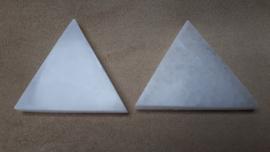 Seleniet/satijnspaat driehoek