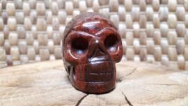 Jaspis brecci human skull