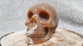 Jaspis chalcedoon skull