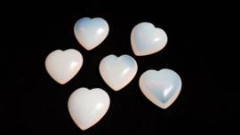 Opaliet hart (synthetisch)