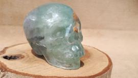 Fluoriet groen human skull