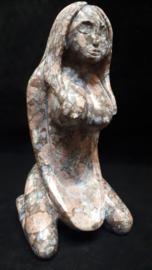 Goddess figuur que sera/vulkaniet