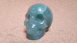 Aventurijn human skull