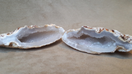 Agaat geode set