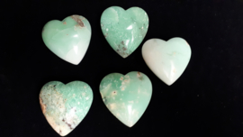 Chrysopraas hart