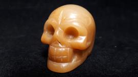 Aventurijn geel human skull