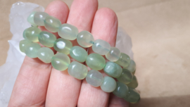Jade nugget armband 8mm
