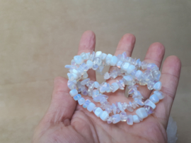 Opaliet (synthetisch) split armband