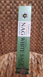 Golden nag, White sage