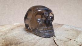 Rookkwarts human skull