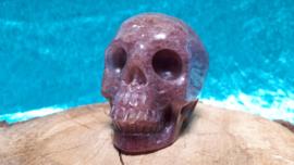 Aventurijn rood human skull