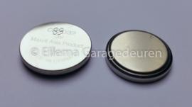 Batterij  voor handzender Novotron 522 en 523