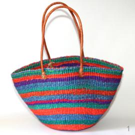 Afrikaanse tas gestreept