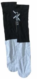 Zwart/ grijze sokken maat 40-46. Set van 3 paar.