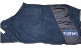 Donkerblauwe zweetdeken maat 185 cm en 195 cm. Van I.R.