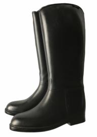 Nieuwe, zwarte laarzen van HKM met rits achter. Verschillende maten.