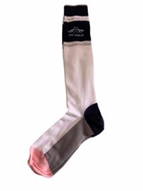 HV Polo sokken maat 39/42. Melle/white.