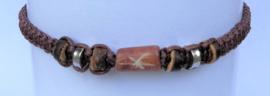Macramé bracelet choklat