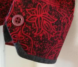 Blouse/overhemd. Balinese L  wijdte 100 cm Mouwlengte 60 cm. Zacht katoen.