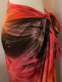 Sarong tie dye 'Tiga'.
