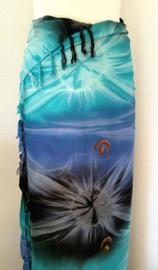 Sarong tie dye 'Kosmos'
