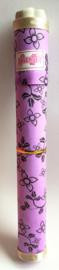 Grote geschenkkoker van 26 cm gevuld met 12 handgemaakte Lavendel wierookstokjes inclusief houdertje.
