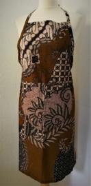 Exclusief keukenschort. Van schitterende authentieke Javaanse batik.