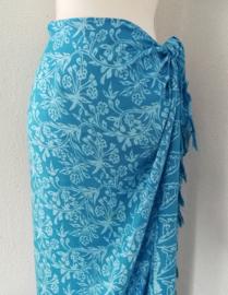 Bali batik sarong.  115x160 cm met sarongknoop. 100 % rayon.