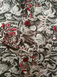 Blouse/overhemd. Balinese L wijdte 100 cm mouwlengte 62 cm. Zacht katoen