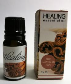 Healing pure etherische olie met gember en kruidnagel. Voor een verwarmende en meditatieve diepe ontspanning van lichaam en geest.  Aromatherapie met 100% natuurlijke ingredienten. 10 ml