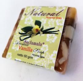Vanille Bali Home spa zeepje 50 gram.