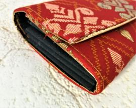 Ruime batik Bali portemonnee.